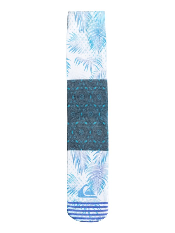 0 Floral Overlay Crew Socks  06367A Quiksilver
