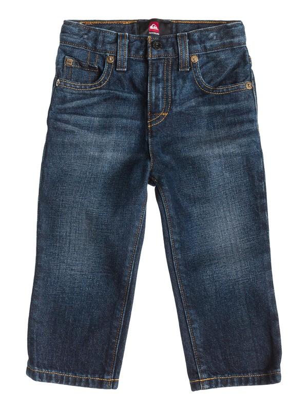 0 Jeans de Corte Recto Revolver - Niños 2 -4  40445024 Quiksilver