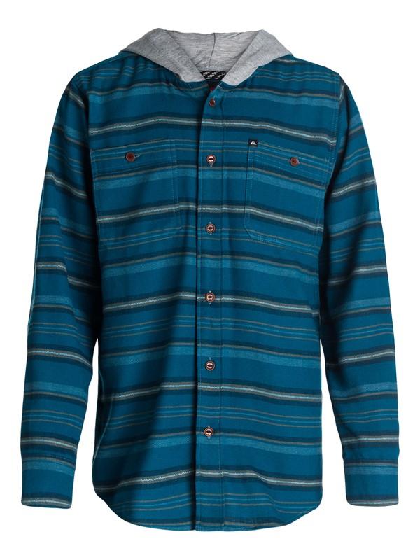 0 Boys 8-16 Pelican Flannel Shirt  40464094 Quiksilver