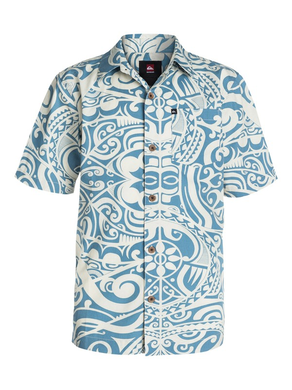 0 Boys 8-16 Pua Short Sleeve Shirt  40464143 Quiksilver