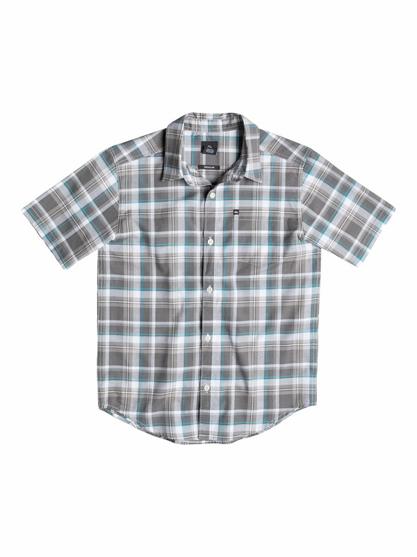 0 Boys 2-4 General Pat Short Sleeve Shirt  40544012 Quiksilver