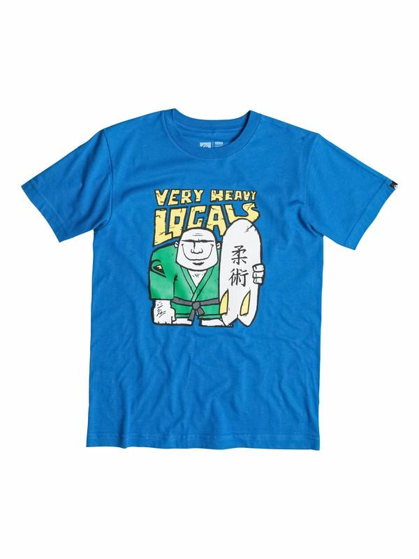 0 Boys 2-4 Heavy T-Shirt  40544028 Quiksilver