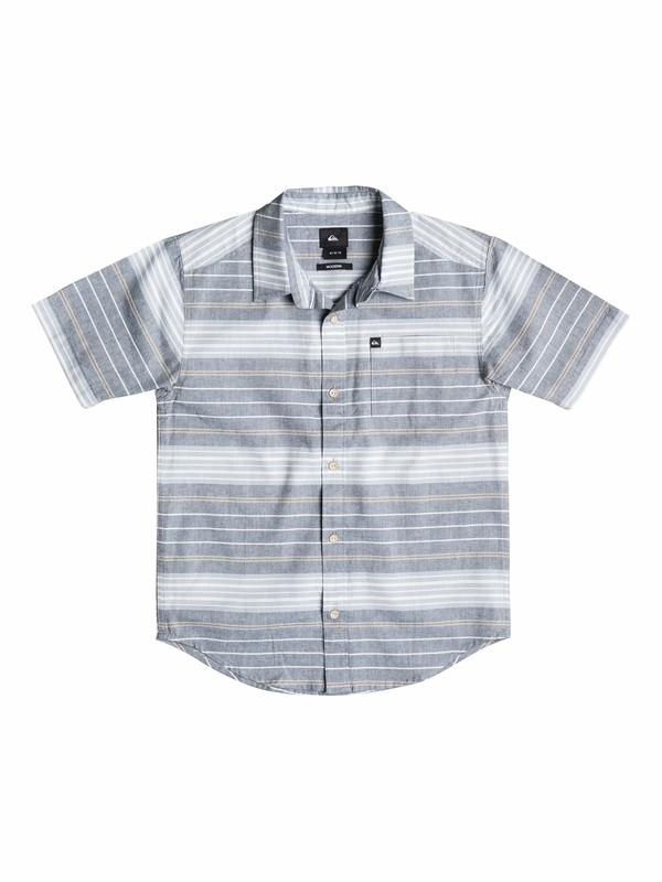 0 Boys 2- 4 Barath Island Shirt  40544130 Quiksilver