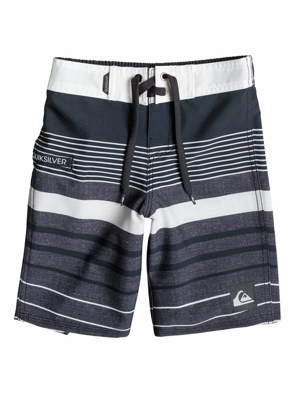 0 Boys 2-4 Yg Stripe Boardshorts  40545032 Quiksilver