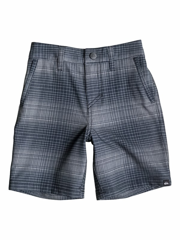 0 Boys 4-7 Everyday Plaid  Boardshorts  40555099 Quiksilver