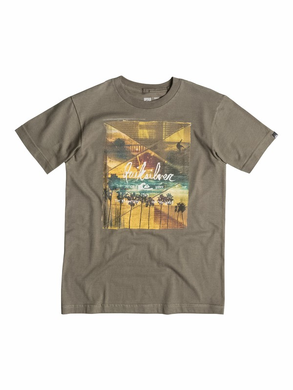 0 Boys 8-16 Vaporize T-Shirt  40564061 Quiksilver