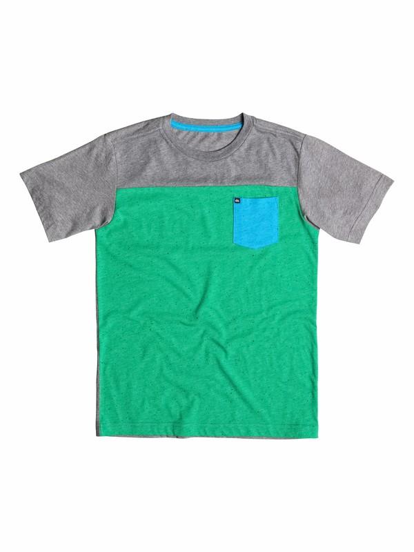0 Boys 8-16 Blockwork  T-Shirt  40564123 Quiksilver