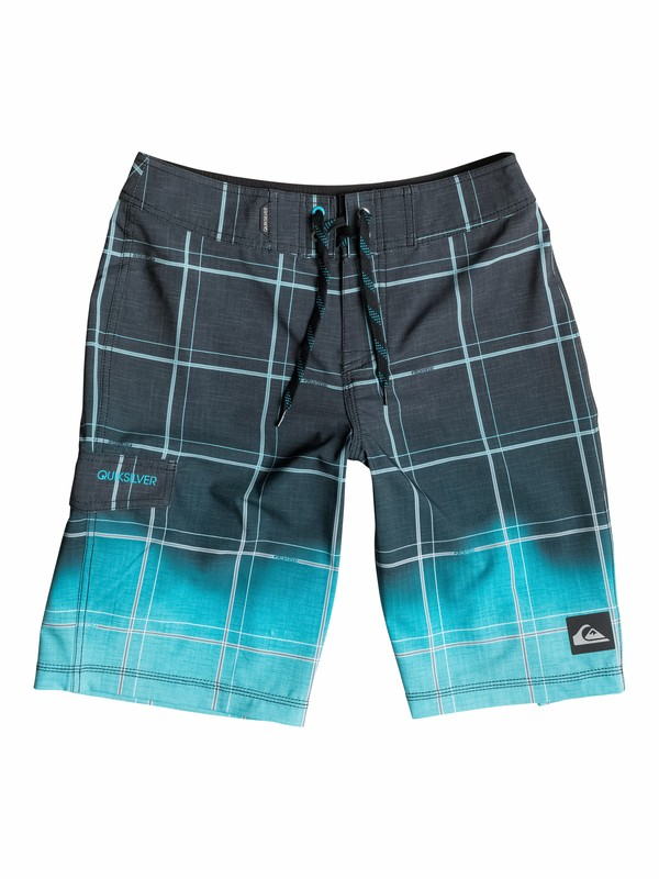 0 Boys 8-16 Electric Space Boardshorts  40565003 Quiksilver