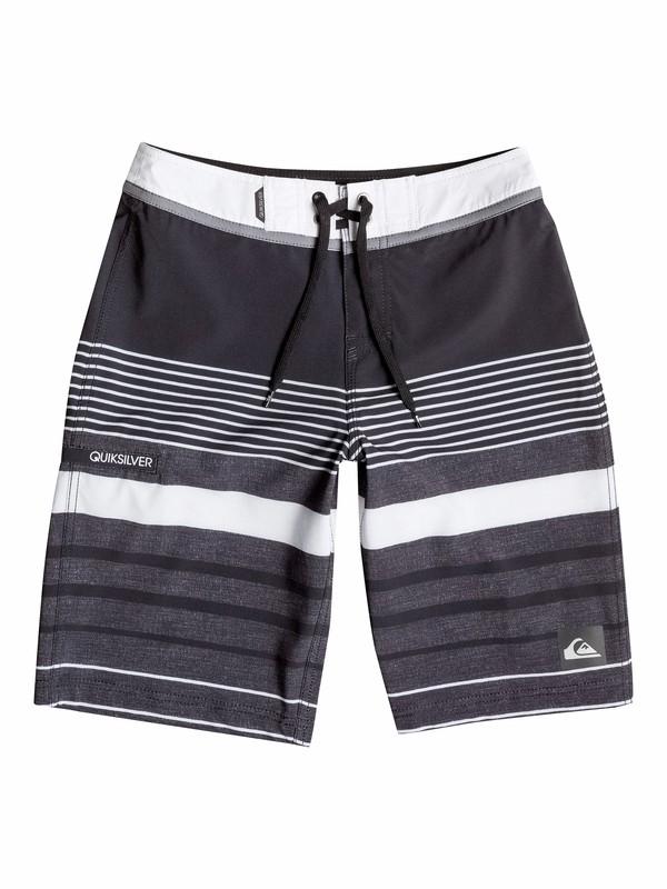 0 Boys 8-16 Yg Stripe Boardshorts  40565032 Quiksilver