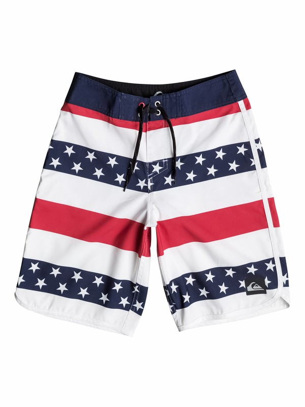 0 Boys 8-16 40 Oz Of July Boardshorts  40565086 Quiksilver