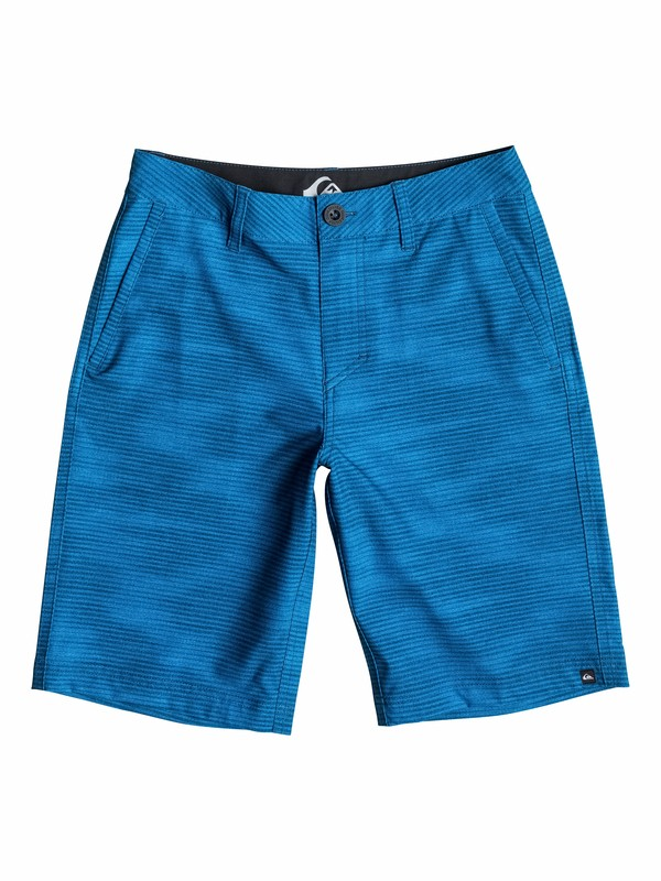 0 Boys 8-16 Textured Amphibian Boardshorts  40565100 Quiksilver