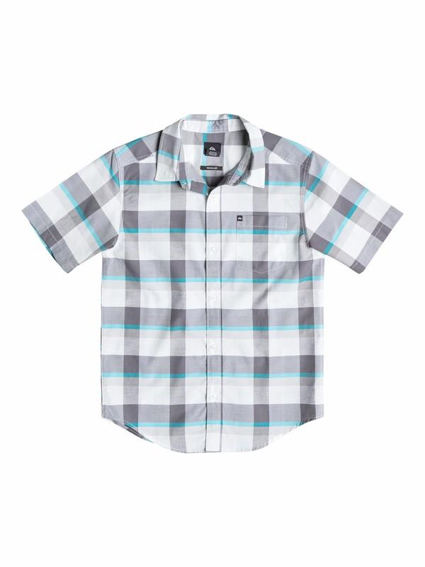 0 Baby Grebe Redux Short Sleeve Shirt  40574018 Quiksilver