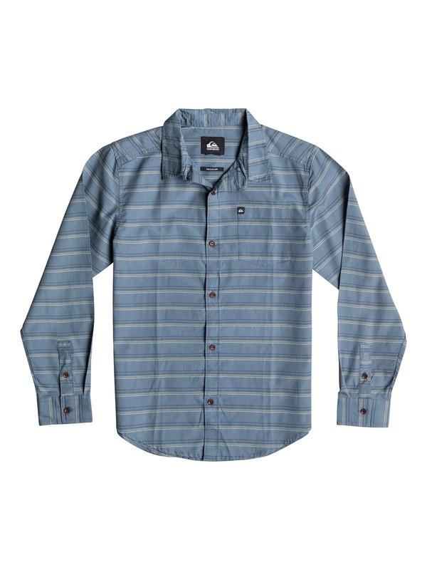 0 Boys 4-7 Fletcher Stripe Long Sleeve Shirt  40654032 Quiksilver