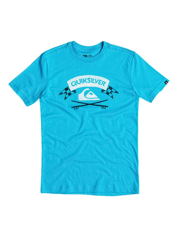 0 Boys 4-7 Crossed Boards T-Shirt  40654183 Quiksilver