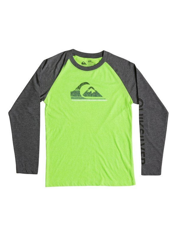0 Boys 4-7 Everest Long Sleeve T-Shirt  40654196 Quiksilver