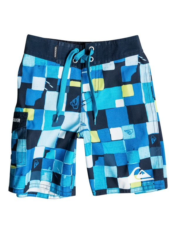 0 Boys 4-7 Double Checked Boardshorts  40655039 Quiksilver