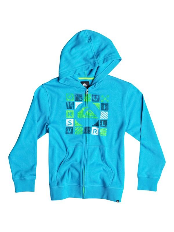 0 Boys 8-16 Squared Zip-Up Hoodie  40664133 Quiksilver