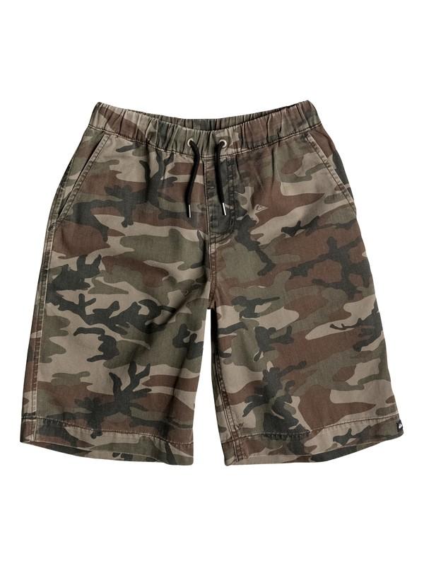 0 Boys 8-16 Camo Elastic Shorts  40665047 Quiksilver