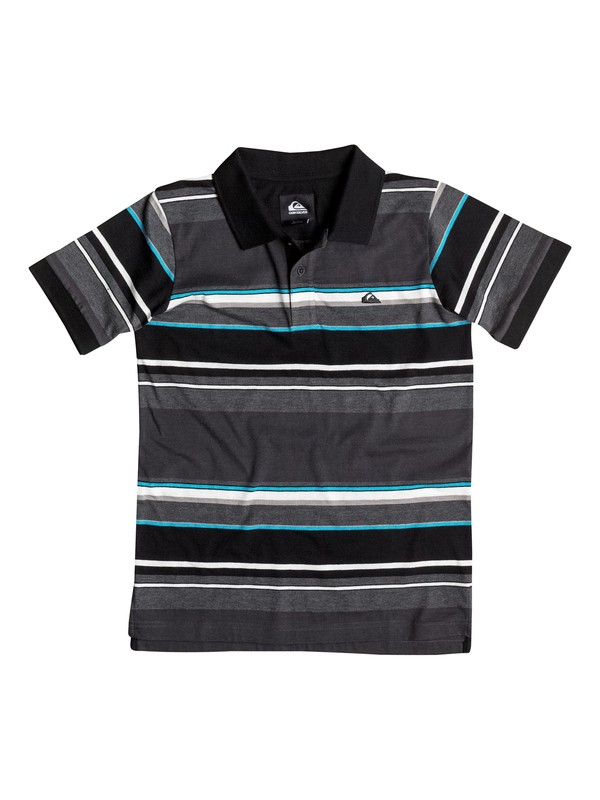 0 Baby Decay Stripe Polo Shirt  40674006 Quiksilver
