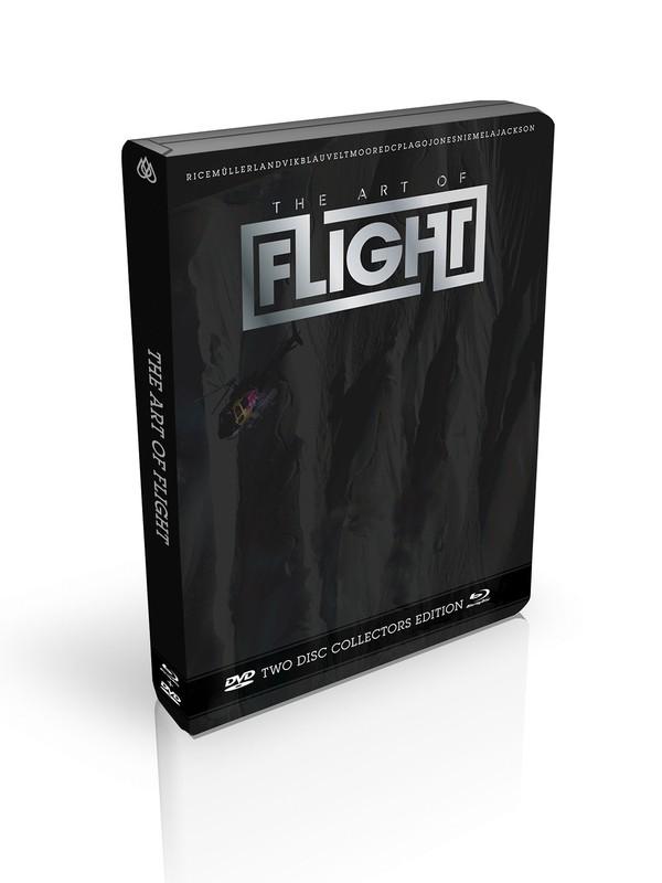 0 ART OF FLIGHT DVD  861477 Quiksilver