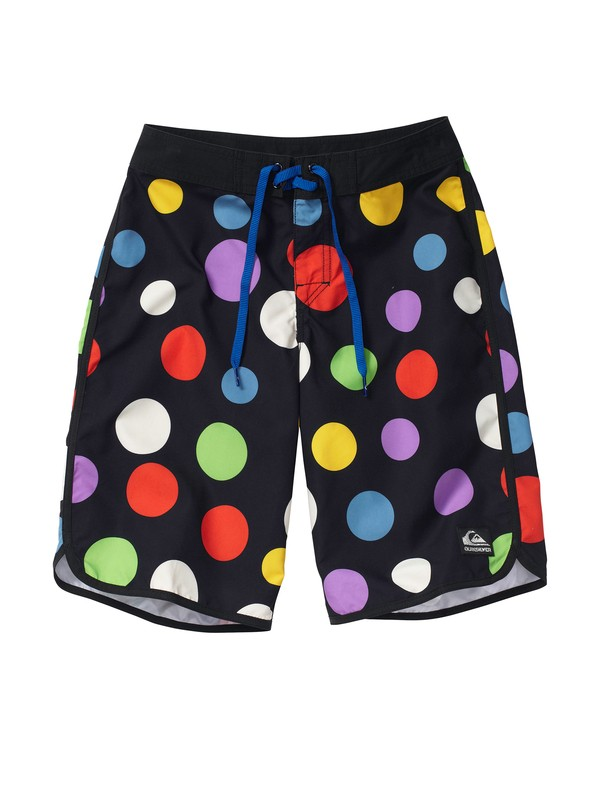 0 Boys 8-16 OG Scallop Print Boardshorts  AQBBS00041 Quiksilver
