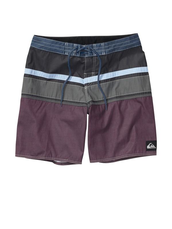 0 Boys 8-16 Panel Stripe Boardshorts  AQBBS00171 Quiksilver