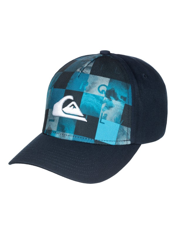 0 Pintails - Cappello Snapback in cotone a 6 Pannelli  AQBHA03092 Quiksilver