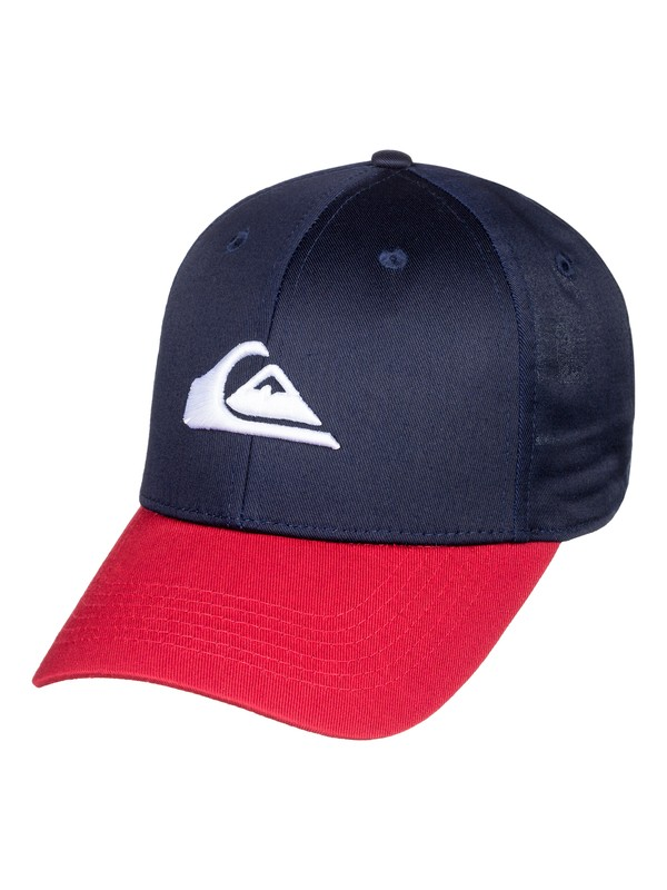 0 Boy's 8-16 Decades Snapback Hat Blue AQBHA03224 Quiksilver
