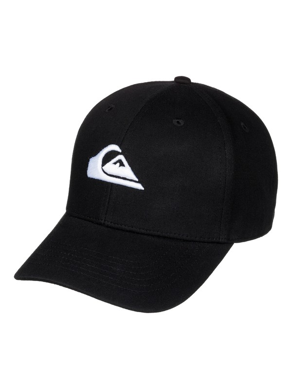 0 Boy's 8-16 Decades Snapback Hat Black AQBHA03224 Quiksilver