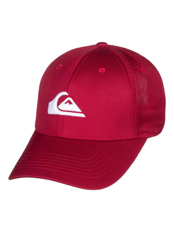 0 Boy's 8-16 Decades Snapback Hat Red AQBHA03224 Quiksilver