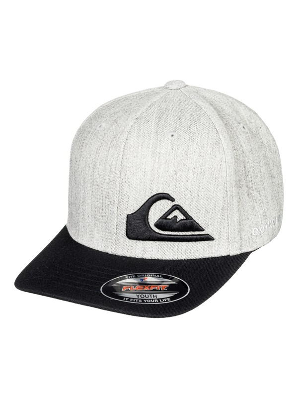 0 Boy's 8-16 Final Flexfit® Hat Black AQBHA03334 Quiksilver