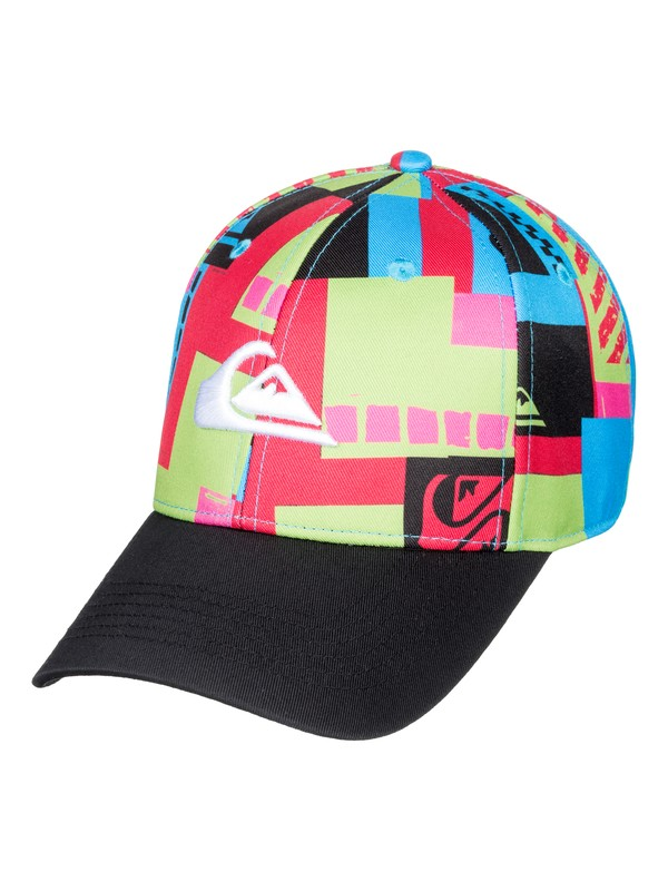 0 City Blocker - Snapback Cap for Boys 8-16 Green AQBHA03336 Quiksilver