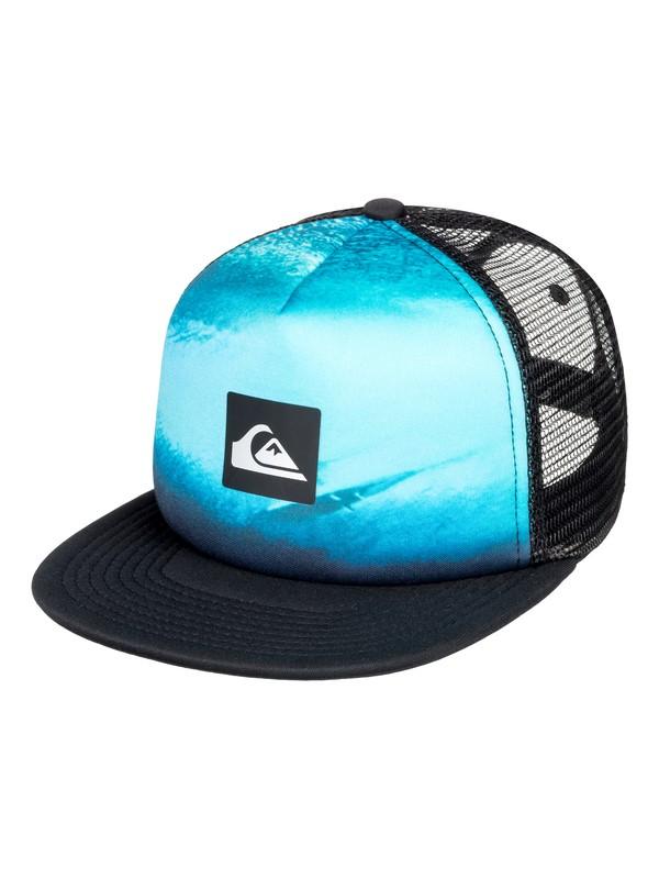 0 Visionairre - Trucker Cap for Boys 8-16 Black AQBHA03339 Quiksilver