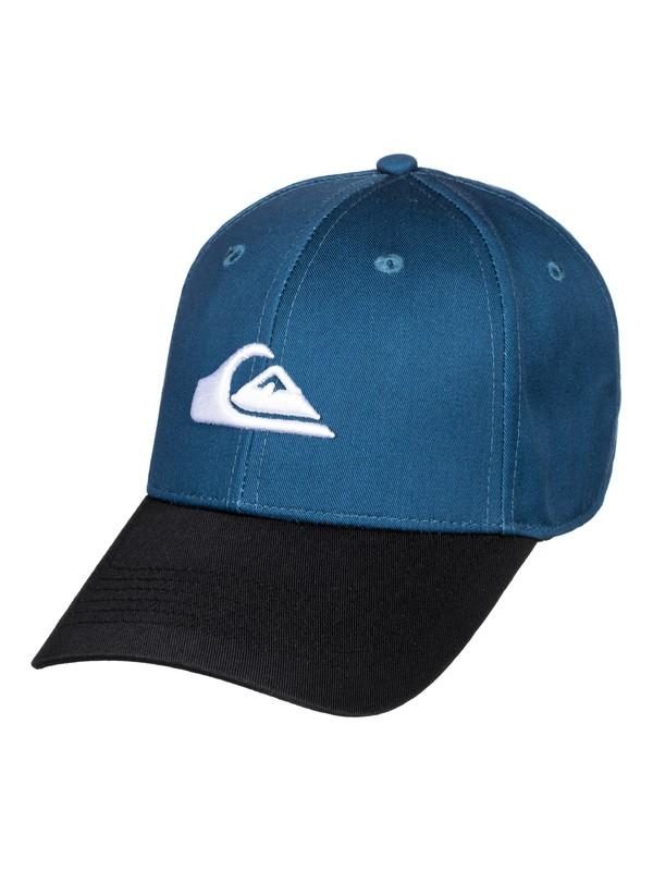 0 Decades - Snapback Cap Blue AQBHA03356 Quiksilver