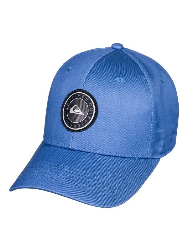 0 Gorra con cierre a presión trasero Decades Plus Azul AQBHA03357 Quiksilver
