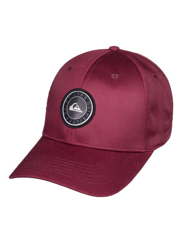 0 Decades Plus - Snapback Cap for Boys 8-16 Red AQBHA03357 Quiksilver