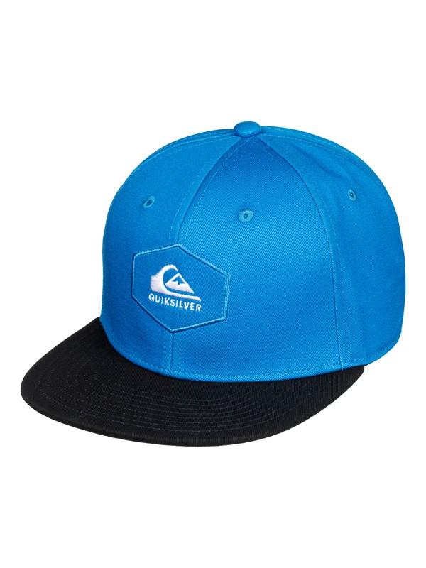 0 Swivells Snapback Cap Blue AQBHA03363 Quiksilver