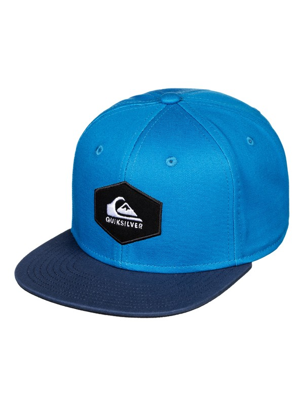 0 Boy's 8-16 Swivells Snapback Cap Blue AQBHA03363 Quiksilver