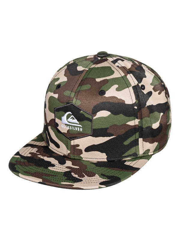 0 Boy's 8-16 Swivells Snapback Cap Green AQBHA03363 Quiksilver