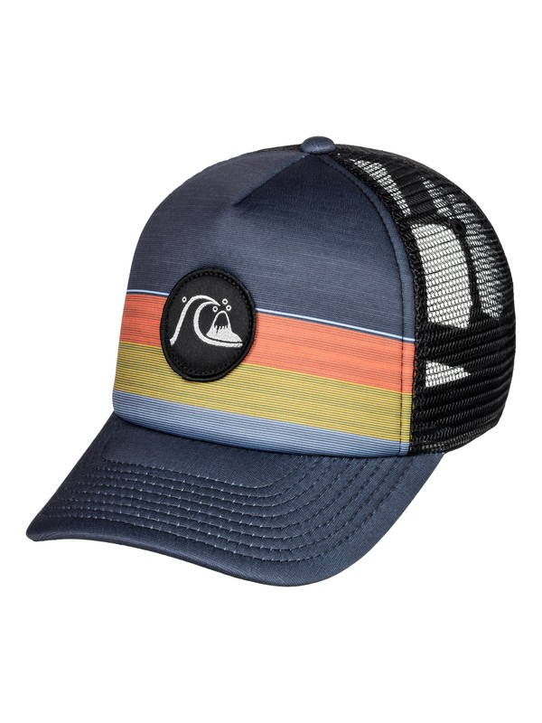 0 Seasonal Ripe Trucker Cap Black AQBHA03367 Quiksilver