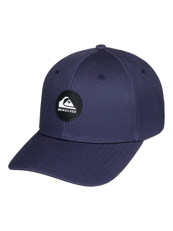 0 Boy's 8-16 Super Unleaded Snapback Hat Blue AQBHA03383 Quiksilver