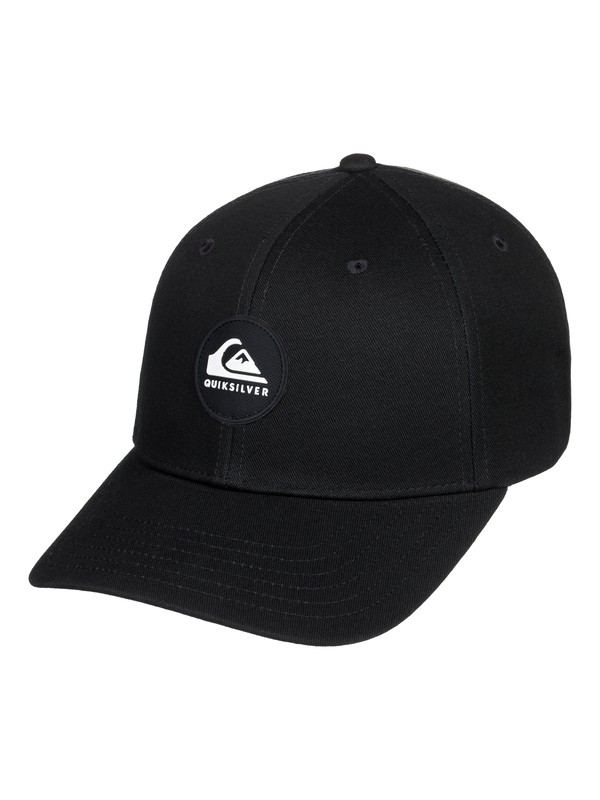 0 Boy's 8-16 Super Unleaded Snapback Hat Black AQBHA03383 Quiksilver