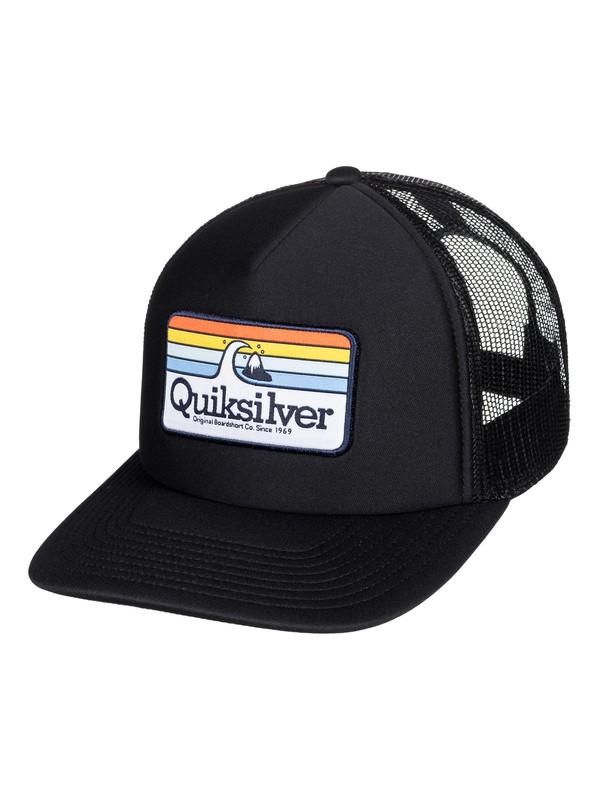 0 Boy's 8-16 Hessford Trucker Hat Black AQBHA03384 Quiksilver