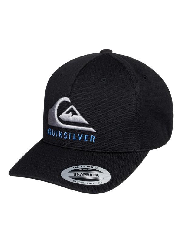 0 Boys 8-16 Smashness Snapback Hat Black AQBHA03386 Quiksilver