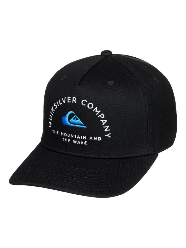 0 Boy's 8-16 Gainers Snapback Hat Black AQBHA03387 Quiksilver