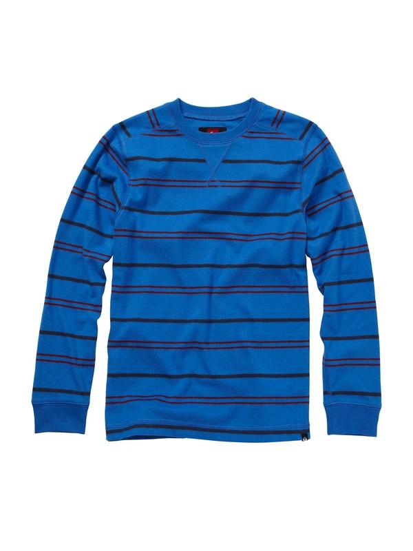 0 Boys 8-16 Snit Stripe Sweater  AQBKT00041 Quiksilver