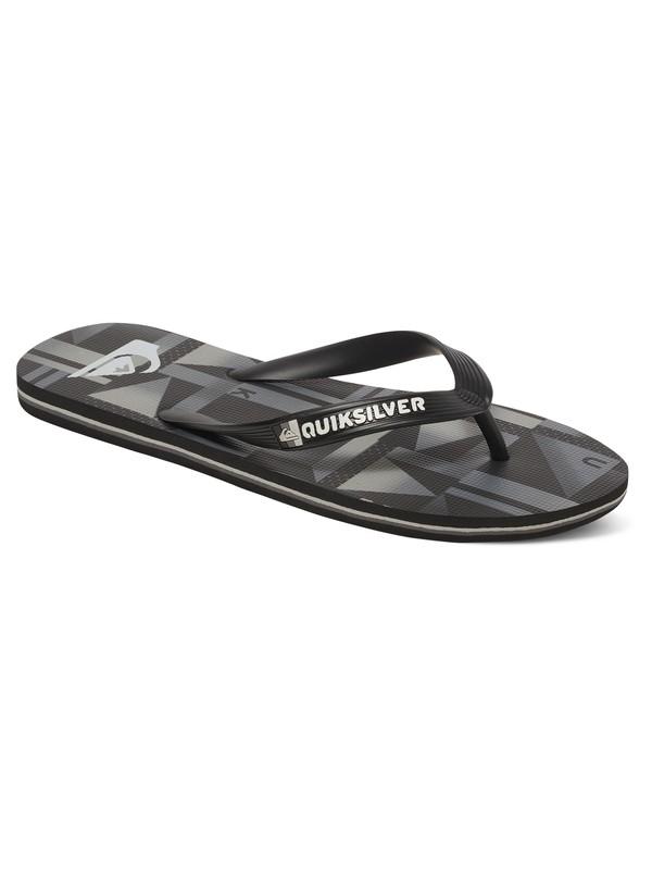 0 Molokai - Flip-Flops Black AQBL100200 Quiksilver