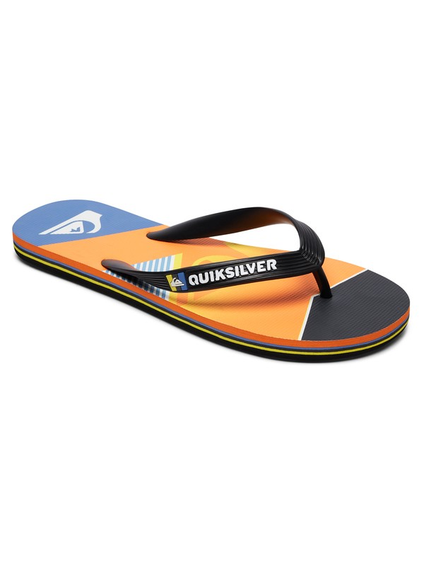 0 Molokai Slash Fade Logo - Sandalen für Jungen Schwarz AQBL100264 Quiksilver