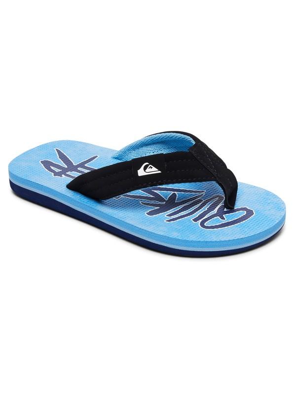 0 Carver Print Sandals Blue AQBL100269 Quiksilver