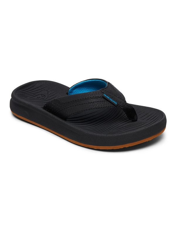 0 Boy's 8-16 Oasis Sandals Black AQBL100336 Quiksilver